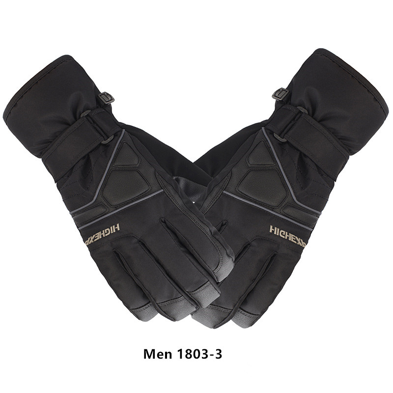 High Experience Ski Gloves Men Waterproof Mittens Winter Men's Gloves Thermal Gloves Snowboard Gloves Winter Gloves Skiing Warm