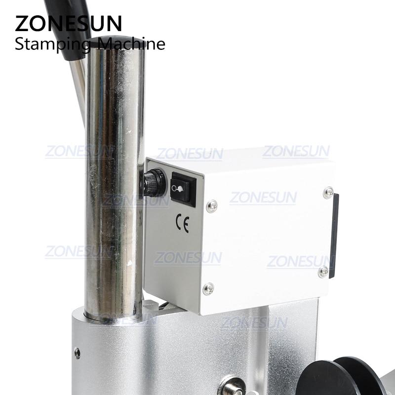 ZONESUN ZS90 Manuale digitale Libro di carte in PVC Carta di cuoio - Attrezzature per la lavorazione del legno - Fotografia 5