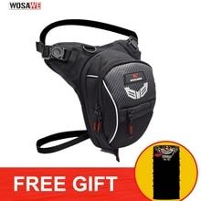 WOSAWE Motocross Leg Bag Waterproof Fanny Pack Racing Drop Light Weight High Capacity Motorcycle Waist