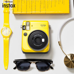 Fujifilm Instax Mini 70 Instant Photo Camera The Camera Once Imaging Film Selfie Camera For kids Gift With 10 sheets Paper