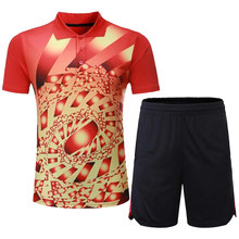 Nouveaux ensembles de tennis de table hommes ou femmes, survêtement de ping-pong, vêtements de tennis de table chinois, costumes de tennis de table, ensembles de vêtements de badminton(China)
