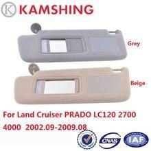 CAPQX dla Land Cruiser PRADO LC120 2700 4000 2002 2003 2004 2005 2006 2008 2009 samochodów wewnętrzna osłona przeciwsłoneczna osłona przeciwsłoneczna przednia osłona przeciwsłoneczna