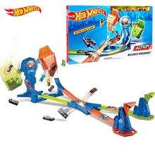 Hot wheels супер трек-упаковка, модели автомобилей, детские пластиковые металлические игрушки для автомобилей, модели автомобилей Hot wheels, подарок для детей