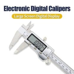 Digital Calipers Metal case 6-Inch 150mm Stainless Steel Electronic Digital Vernier Caliper Metal Micrometer Measuring