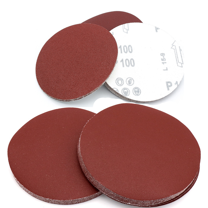 3 inch <font><b>75mm</b></font> Sandpaper 10PCS Sanding <font><b>Disc</b></font> 60-2000 Grit For Sander Machine Self Stick Abrasive Tools Accessories image