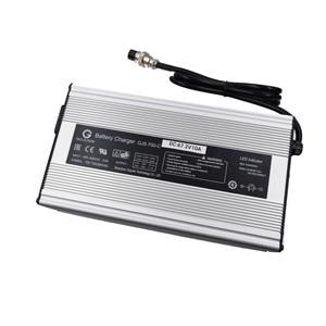 Image 4 - 1PC più basso price672W 67.2V 10A Caricatore 60V Batteria Li Ion Caricatore Astuto Utilizzato per 16S 60V al litio Li Ion e della bicicletta della bici elettrica
