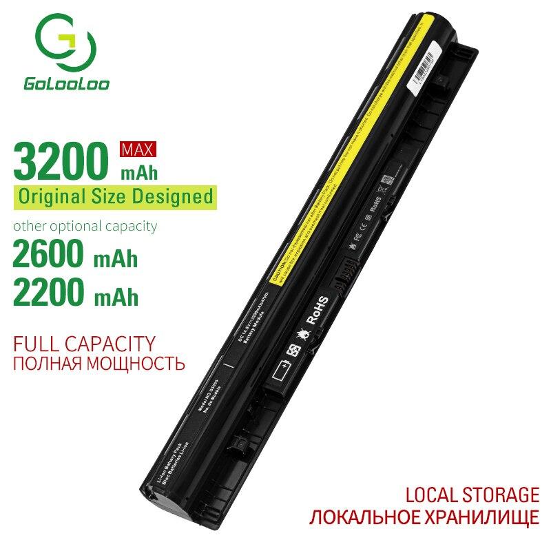 Golooloo 3200mAh New Laptop Battery For Lenovo G400 G400S G410S G500 G500S  G510S G405S G505S S410P S510P  Z40 Z50 G40 G50 Z710