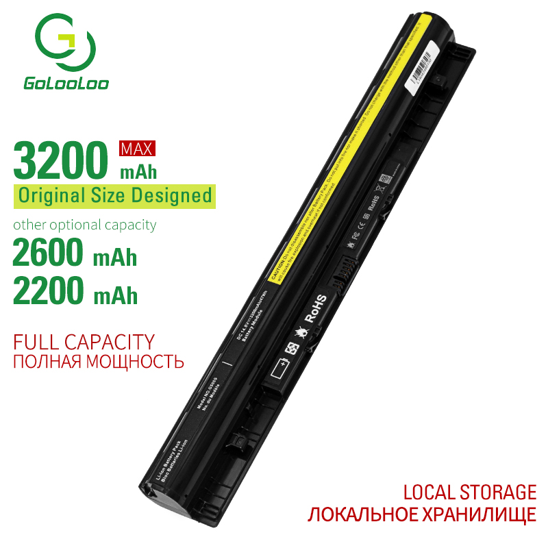 Golooloo 3200mAh New laptop <font><b>battery</b></font> for <font><b>Lenovo</b></font> G400 G400S G410S G500 G500S G510S G405S G505S <font><b>S410P</b></font> S510P Z40 Z50 G40 G50 Z710 image
