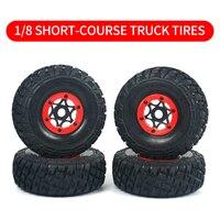 1/8 pneumatici per autocarri a breve corso adattatore da 17mm RC telecomando auto nibave impugnatura morbida Non adesiva Buggy fuoristrada pneumatico indossabile