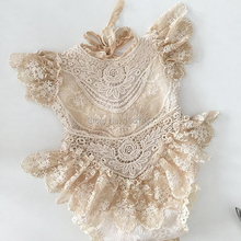 Lace Newborn Baby Clothing Summer Fashion Infant Girls Rompers Cute Off Shoulder Romper Playsuit Jumpsuit Outfits Set
