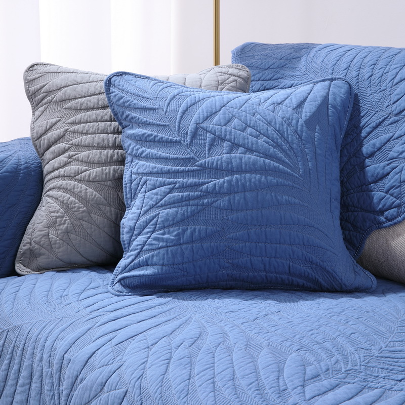 Комбинированный чехол для дивана из хлопковой ткани на все сезоны