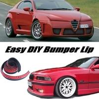 NOVOVISU 범퍼 립 디플렉터 입술 Alfa Romeo Nuvola AR 프론트 스포일러 스커트 자동차 튜닝/바디 키트/스트립/프론트 스커트 용