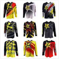 Novo 2020 racestars motocross camisa da motocicleta jaqueta fora de estrada camiseta passeio mtb bicicleta de manga longa camisa de motocross moto jérsei
