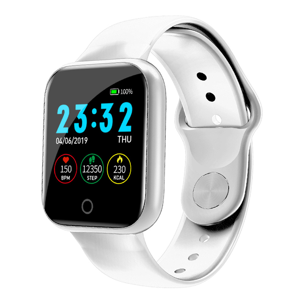 I5 Smart Sport Bracelet Outdoor Fitness Watch Heart Rate Pressure Sleeping Monitor Step Counter Gym Running Wristband Watch