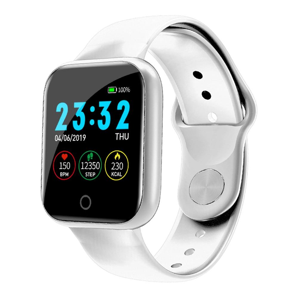 I5 inteligentna bransoletka sportowa na świeżym powietrzu zegarek do fitness tętna ciśnienia monitor do spania licznik kroków, siłownia, bieganie, zegarek na rękę