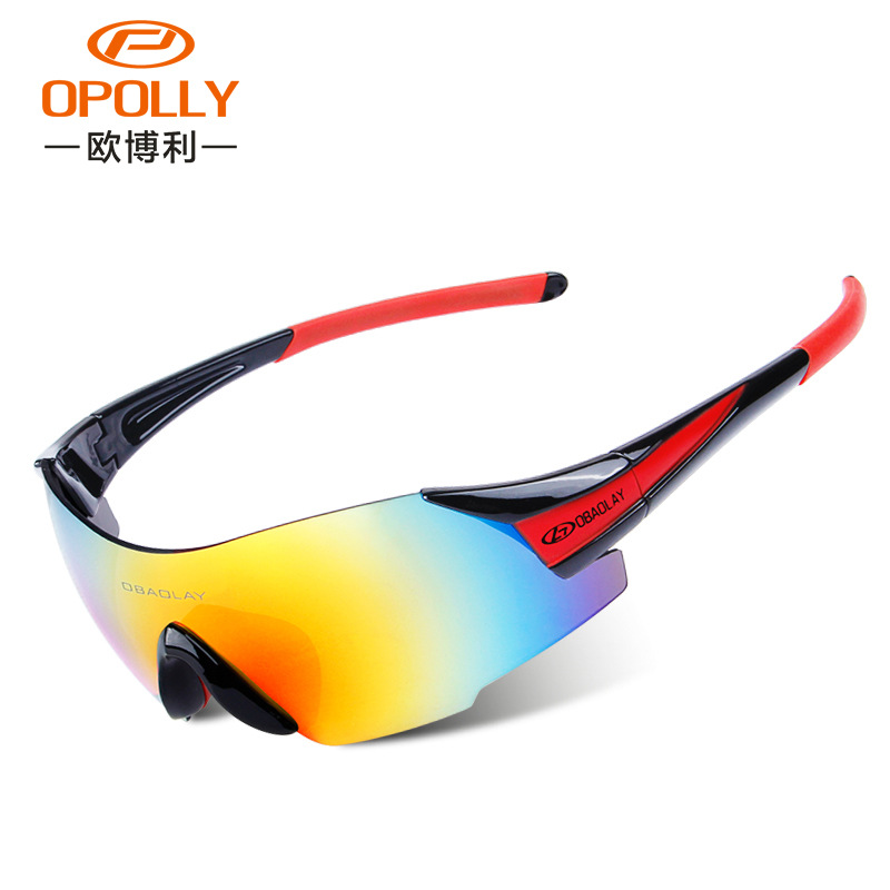 Ob Lai New Style Ultra-clear Riding Sun Glasses Outdoor Sports Chip Installed Riding Glasses Bicycle Glass