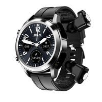 Reloj inteligente 2 en 1 para hombre, pulsera con auriculares inalámbricos, Tws, Android, Bluetooth, Combo de llamadas telefónicas, para Huawei, Samsung, PK, GT2, 2021