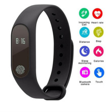 M2 Smart bracelet Band Sports Fit Bracelet Wristband Heart Rate Monitor+Smart strap for xiaomi 2 wristband