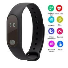 M2 Smart bracelet Band Sports Fit Bracelet Wristband Heart Rate Monitor+Smart strap for xiaomi 2 wristband