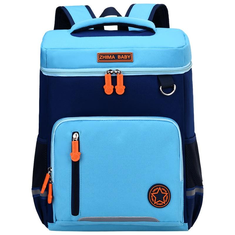 Children School Bag Boys Girls Kids Waterproof Primary School Backpack Kids Orthopedic Backpack Schoolbag Kids Mochila Infantil