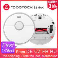 Roborock S5 MAX Robot Mop aspiradora versión internacional con e-tank Lidar navegación selectiva limpieza de la habitación