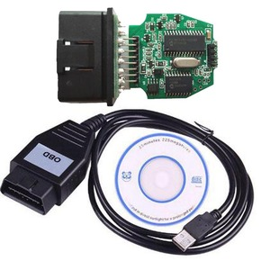 Image 1 - Mais novo para o dispositivo focom obd interface usb para vcm obd cabo de diagnóstico obd2 obdii scanner diagnóstico do carro