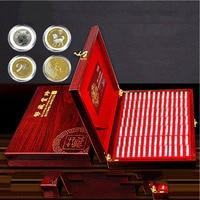 Cápsulas de exposição para presente  recipiente de armazenamento para cápsulas de exposição multiuso com caixa de madeira portátil  100 peças