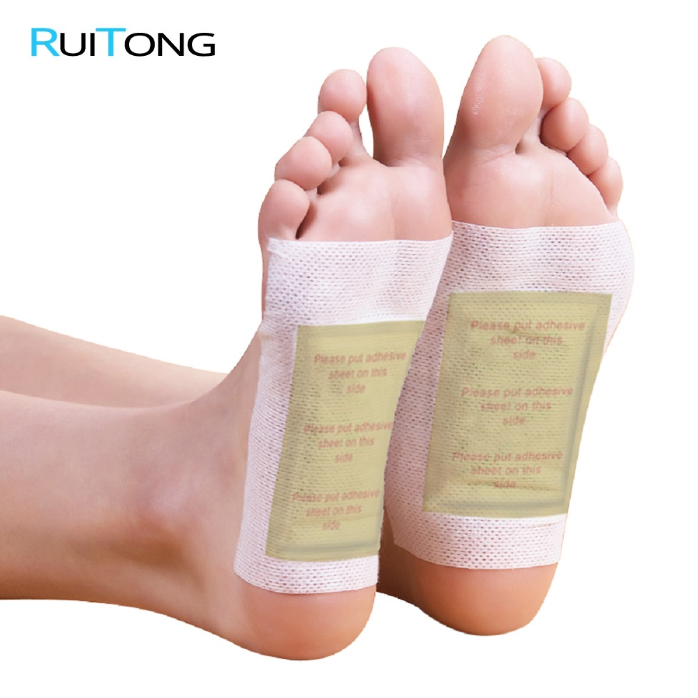 200 Piece=100pcs Patches+100 Pcs Adhesives Detox Foot Patch Vinegar Pad Patch Foot Improve Sleep Slimming Patch Loss Weight
