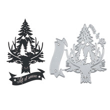 GJCrafts Metal Cutting Dies New 2019 Christmas Tree Scrapbooking Album Die Cut Embossing Stencil Decor  stamps and dies