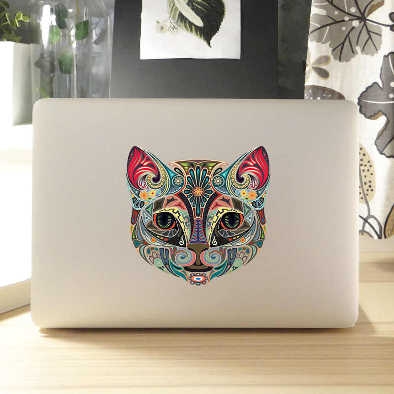 Autocollant pour ordinateur portable de chat de pierre gemme pour Apple Macbook Air Pro Retina 11 12 13 14 15 pouces