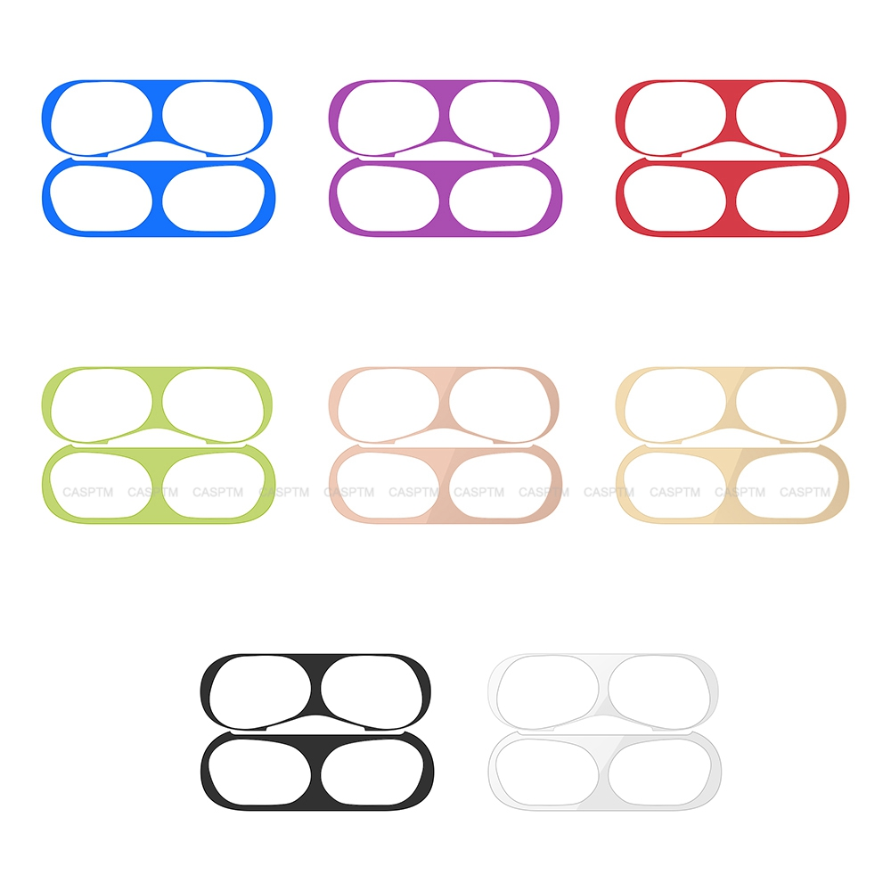 Ultra Thin Skin Sticker Protection For Airpods Pro 2019 Case Cover Metal Sticker For Airpods Pro Easy Install Film For Airpods 3