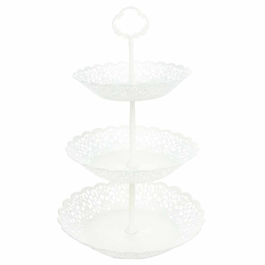 3-Tier stojak na babeczki deser ciasto wesele Event Party wyświetlacz wieża płyta nowe ciasto stojak na naczynia taca ciasto talerzyk na babeczkę stojak ręcznie