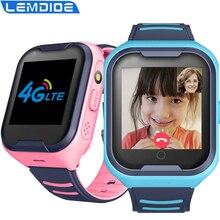 Детские Смарт-часы G4H, водонепроницаемые детские часы с поддержкой SIM-карты, GPS, 4G, Wi-Fi, IP67, для Android и IOS