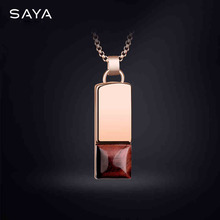 Men Pendants,  Tungsten Carbide Necklaces with Stones, Three Colors, Free Shipping