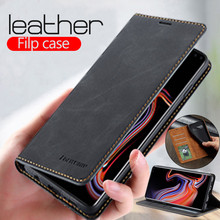 Leather Flip wallet Case For samsung Gal