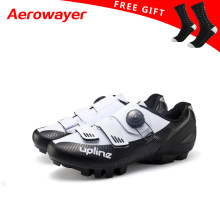 cycling shoes mtb winter mountain bike shoes men racing bicycle sneakers professional self-locking breathable 2019 new upline(China)