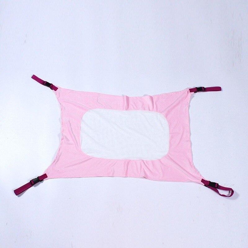H5d2cda1a3a5b4660a1035a1f356543fdK Infant Baby Hammock For Newborn Kid Sleeping Bed Safe Detachable Baby Cot Crib Elastic Hammock With Adjustable Net Portable
