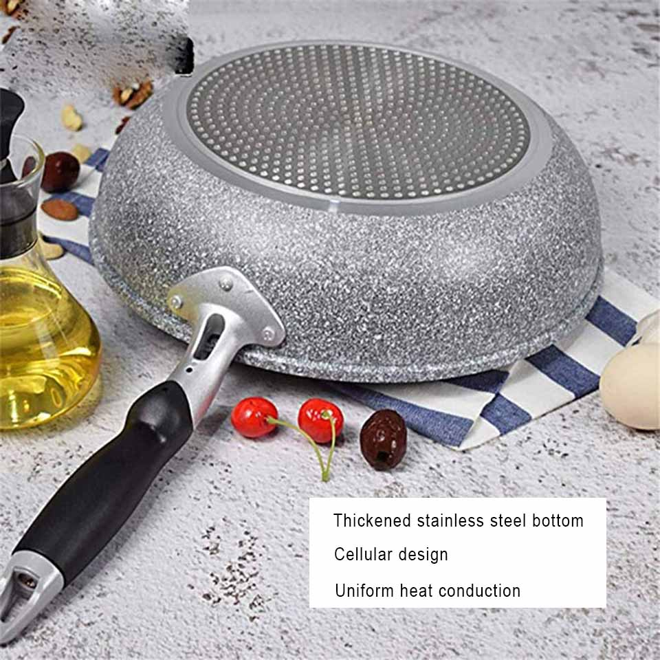 Non-stick Frying Pan With Anti-Scalding Handle Frying Pan Cooker Kitchen Tools