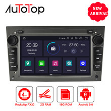 AUTOTOP Opel Android Car Multimedia Player 2 Din Android 9.0 Opel DVD GPS Per Astra Meriva Vectra Antara Zafira Corsa vauxhall(China)