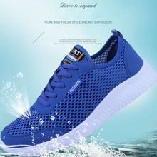 New Men Shoes Fashion Sneakers Unisex Air Mesh Breathable Casual Man Low-cut Soft Bottom High Quality Run Promotion