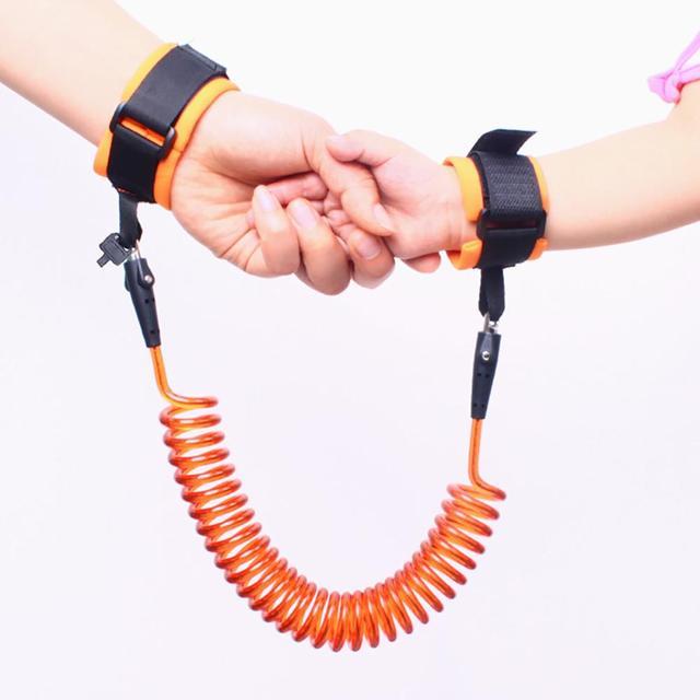 1.5/2/2.5M Kids Anti-lost Harness Adjustable Kids Safe Harness Children Wrist Leash Anti-lost Belt Band Magic Tape