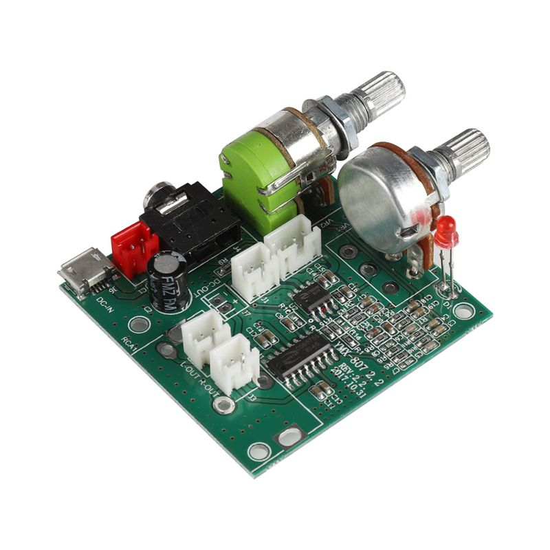 20W Class D 2.1 Channel Subwoofer Amplifier Board 3D Surround Digital Stereo Amplifier AMP Board DC 5V T0318