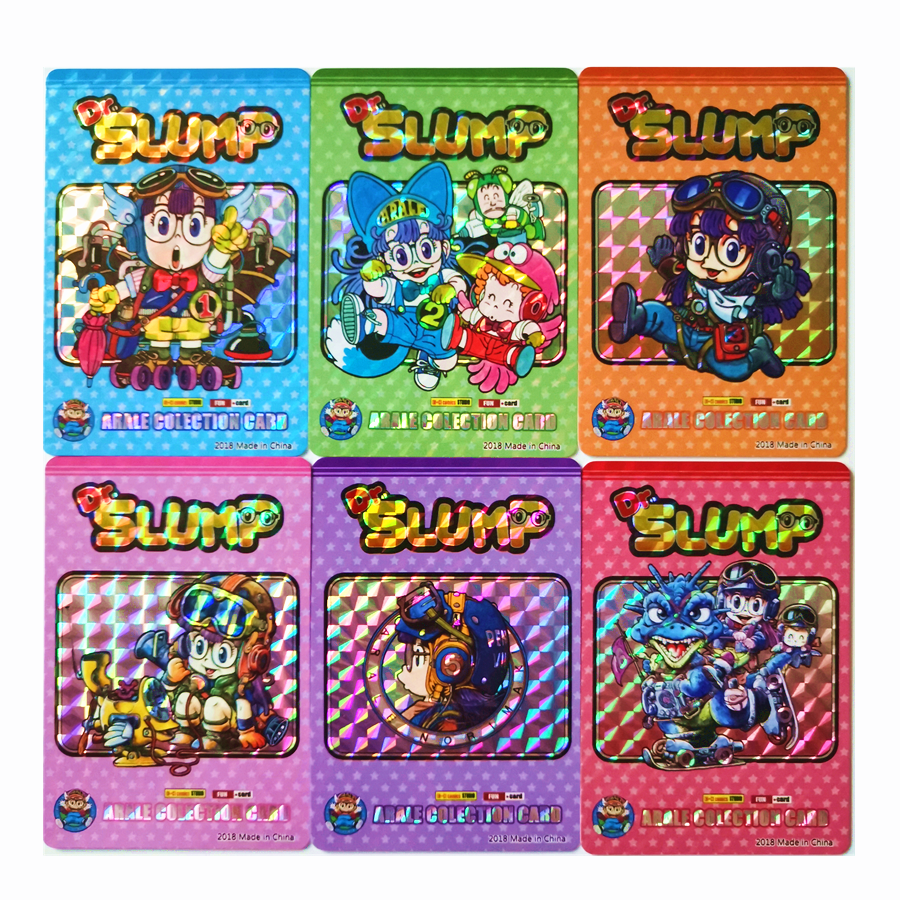 45pcs/set Arale Toys Hobbies Hobby Collectibles Game Collection Anime Cards