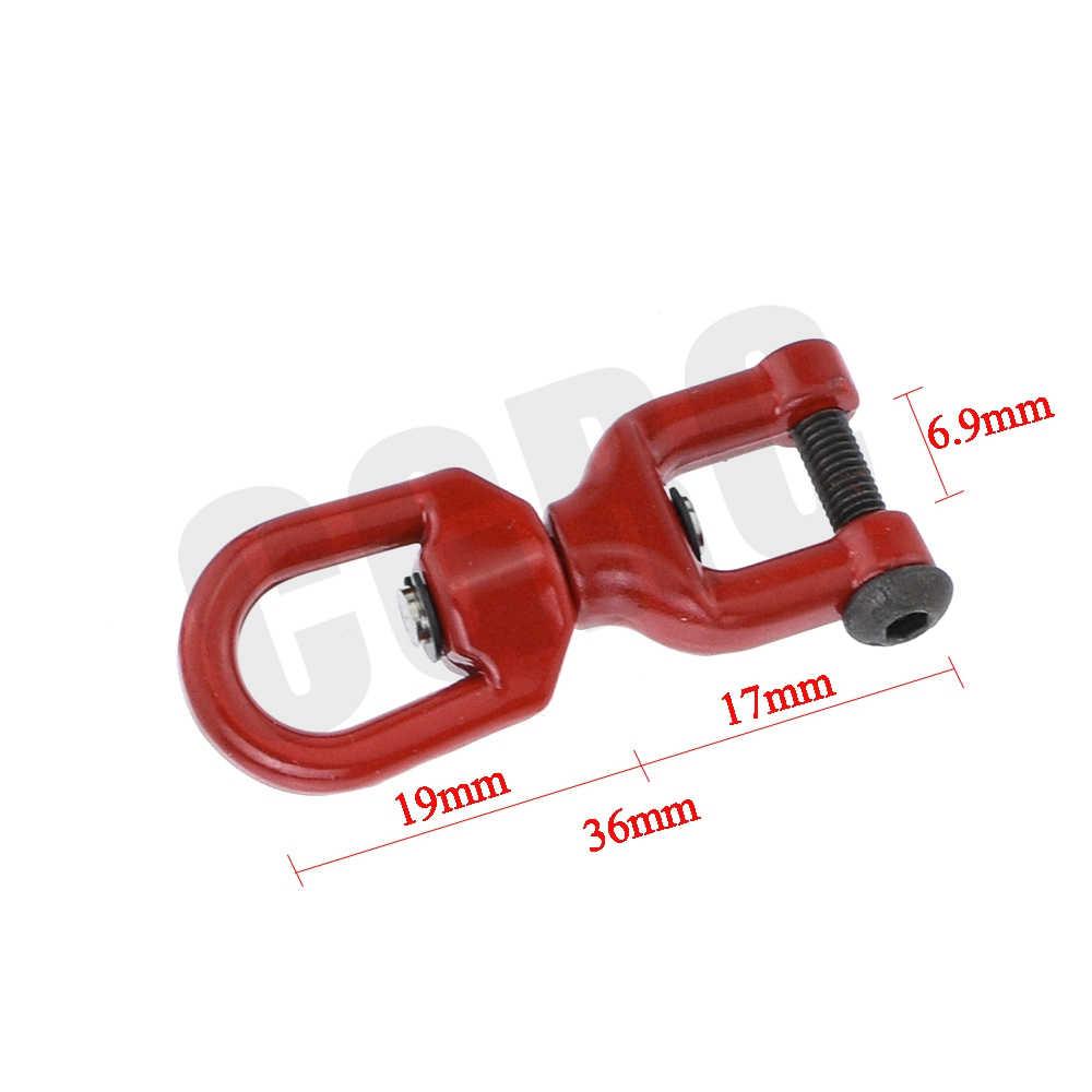 RC modèle métal levage poulie papillon anneau boucle pour 1/10 RC chenille voiture TRX4 TRX6 G63 RC4WD D90 D110 Axial SCX10 CC01 TF2