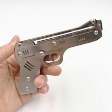 Высококачественная мини стрела для стрельбы, серебряная уличная игра, эластичная Рогатка, Коллекционная модель, детская игрушка, украшение...
