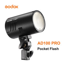 Godox – Flash de poche AD100 Pro 2.4G, sans fil, 100W, pour appareil photo DSLR Sony Nikon Canon Fujifilm Fuji Olympus
