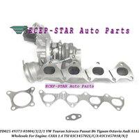 Turbo TD025 49373-01003 49373-01001 49373-01002 03C145701R 03C145701J 03C145702C Para Volkswagen Touran Scirocco Passat B6 CAXA