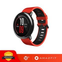 Русский Amazfit Pace Smartwatch Amazfit 스마트 시계 블루투스 음악 GPS 정보 푸시 심박수 샤오미 전화 redmi 7 IOS