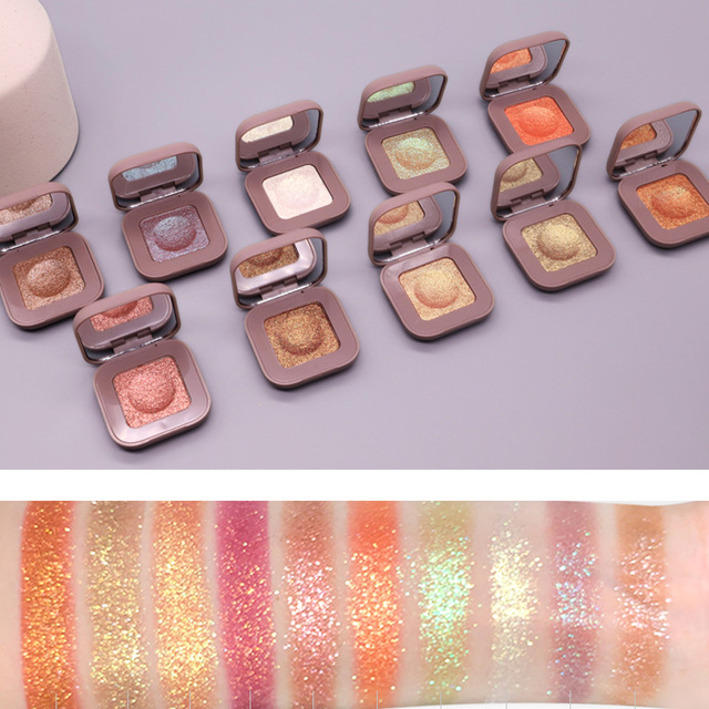 NOVO Galaxy Glitter Eyeshadow Palette Shimmer Matte Eye shadow Palette Makeup Shine Diamond Eyeshadow Powder Pigmented Cosmetics