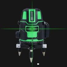 Linee Laser linee a raggio verde/rosso Laser 360 gradi rotante autolivellante 2/3/5 linee linee Laser croce verticale e orizzontale